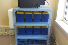 Система резервного питания серверного оборудования госучреждения, Украина.
